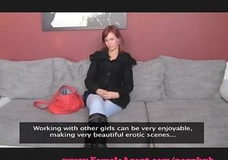 femaleagent. sensual redhead seduction