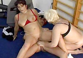 mature gym orgy