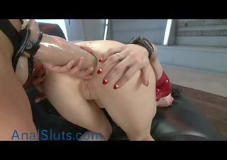 busty mother i ass fucked with giant strapon
