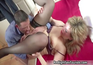 Thick milf prostitute gets her pussy part4